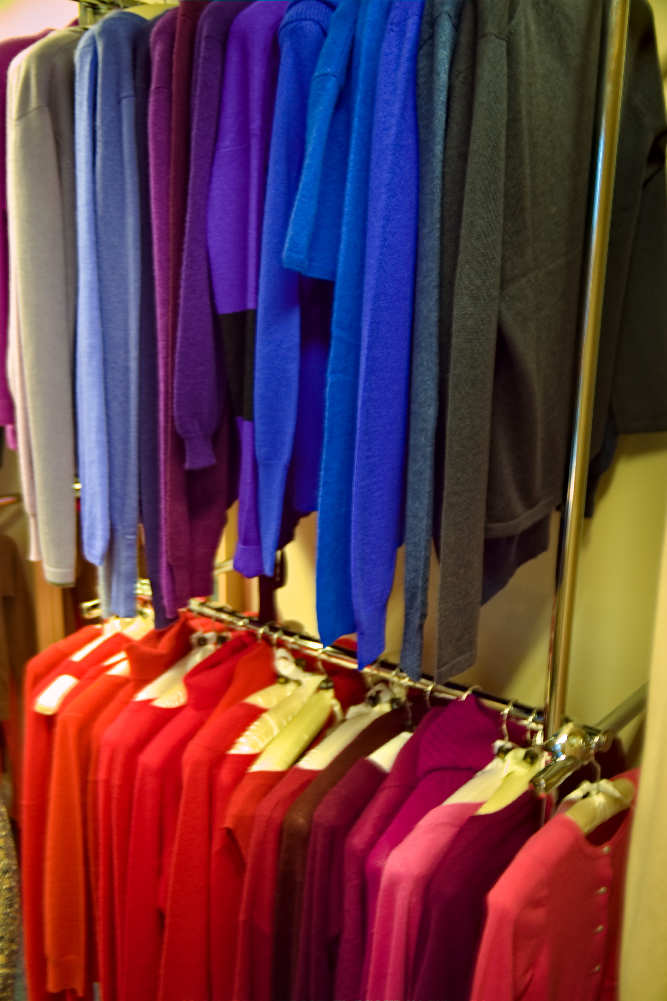"""Shop Consciously with """"Nearly New Cashmere""""."""