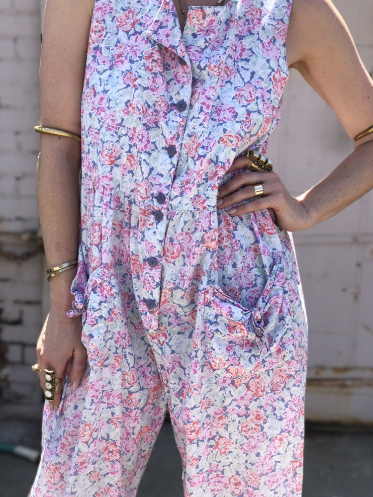 This is a Laura Ashley vintage jumpsuit. Similar to the one I owned.