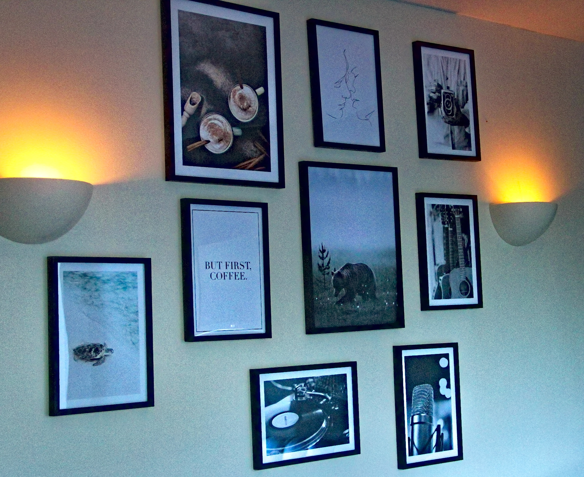 The Art of Display – My Kitchen Poster wall